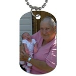 Grandma - Dog Tag (One Side)