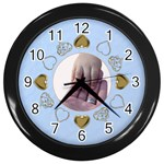 Loving Hands of Time - Wall Clock (Black)