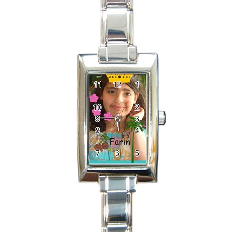 Watch By Farin   Rectangle Italian Charm Watch   Fek4b9ruzne3   Www Artscow Com Front