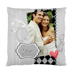 Wedding By Joely   Standard Cushion Case (two Sides)   W8zomogoyzs5   Www Artscow Com Front