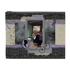 Royal Silhouette Xl Cosmetic Bag By Klh   Cosmetic Bag (xl)   1vxwmuefzmfh   Www Artscow Com Front