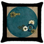 Love, Throw Pillow Case (Black)