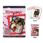 romantic - Playing Cards Single Design