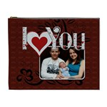 I Love You Always XL Cosmetic Bag - Cosmetic Bag (XL)