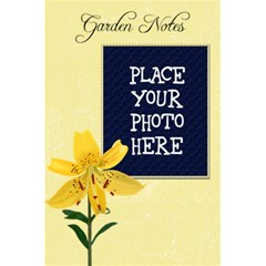 Garden Notes Notebook By Chere s Creations   5 5  X 8 5  Notebook   Xt6wgifolbr4   Www Artscow Com Front Cover