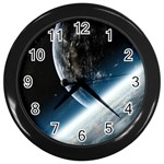 Seinakell - Wall Clock (Black)