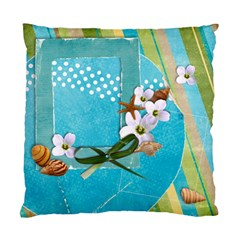 Beach/vacation Custom Cushion Case (two Sides) By Mikki   Standard Cushion Case (two Sides)   Zgq0r56fgzr6   Www Artscow Com Front