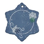 Snowflakes-Custom Snowflake Ornament (Two Sides)