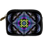 Fractal Art: May011-001 Digital Camera Leather Case