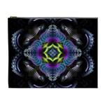Fractal Art: May011-001 Cosmetic Bag (XL)