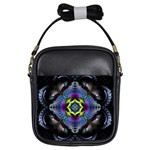 Fractal Art: May011-001 Girls Sling Bag