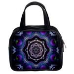 Fractal Art: May011-003A Classic Handbag (Two Sides)