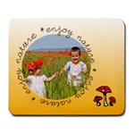 Enjoy nature - mousepad - Large Mousepad