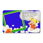 Angel prayer magnet - Magnet (Rectangular)