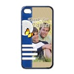 thank you father - Apple iPhone 4 Case (Black)