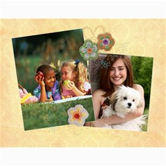 Floral Breeze  Custom Photo Calendar 11 X 8 5(12 Months) By Mikki   Wall Calendar 11  X 8 5  (12 Months)   N8hr9a0clmdl   Www Artscow Com Month