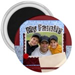 my family - 3  Magnet