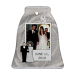 Wedding Date Bell Ornament - Ornament (Bell)