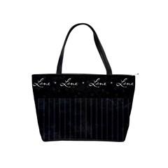 Love Stripe By Bags n Brellas   Classic Shoulder Handbag   Agr5ygtcd9vk   Www Artscow Com Front