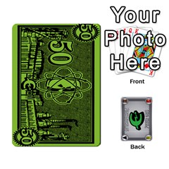 Ace Power Grid Money (order 3 For Complete Set) By Russell Howell   Playing Cards 54 Designs   C8nmqz957ehy   Www Artscow Com Front - ClubA