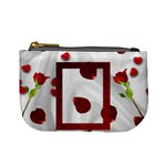 roses and hearts mini coin purse