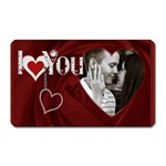 I Love You Rectangle Magnet - Magnet (Rectangular)