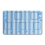 9 picture rectangle magnet - Magnet (Rectangular)