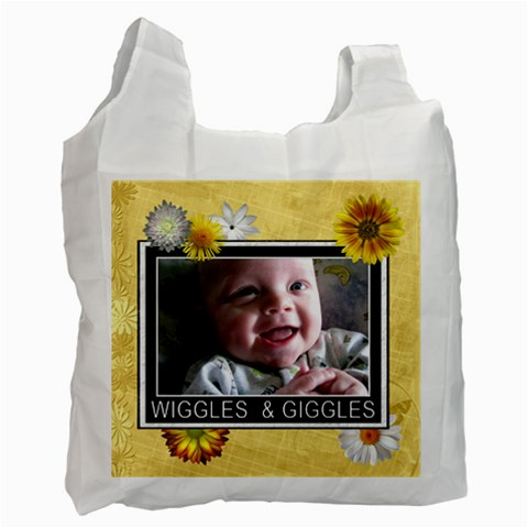 Wiggles & Giggles Recycle Bag By Lil    Recycle Bag (one Side)   Ejttoufno6kj   Www Artscow Com Front