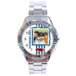 fathers day - Stainless Steel Analogue Watch