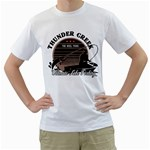 thunder greek ultimate lake fishing custom White T-Shirt