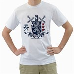 pure breed warriors lion custom White T-Shirt