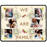 We Are Family Medium Fleece Blanket - Fleece Blanket (Medium)