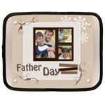 fathers day - Netbook Case (XL)