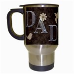Dad Travel/Work Mug - Travel Mug (White)