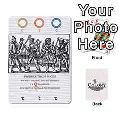 Queen New World Colony   Single Back By Todd Sanders   Playing Cards 54 Designs   1w57djpggirb   Www Artscow Com Front - ClubQ