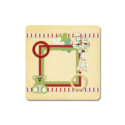 Hh Square Magnet 1 By Lisa Minor   Magnet (square)   M8ipqfrh00c9   Www Artscow Com Front