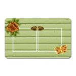 Tangerine Breeze Rectangle Magnet 1 - Magnet (Rectangular)