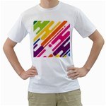 urban stylized custom White T-Shirt