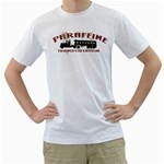 paraffine haulage transportation custom White T-Shirt