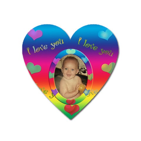 Allaboutlove Heart Magnet By Kdesigns   Magnet (heart)   Evaqistiki4e   Www Artscow Com Front