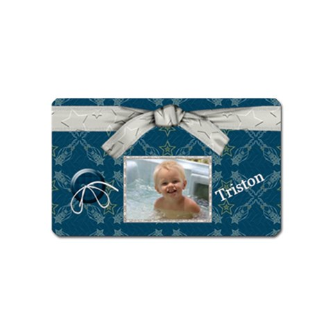 Eden Rect Magnet By Kdesigns   Magnet (name Card)   Bxid2q86z0aj   Www Artscow Com Front