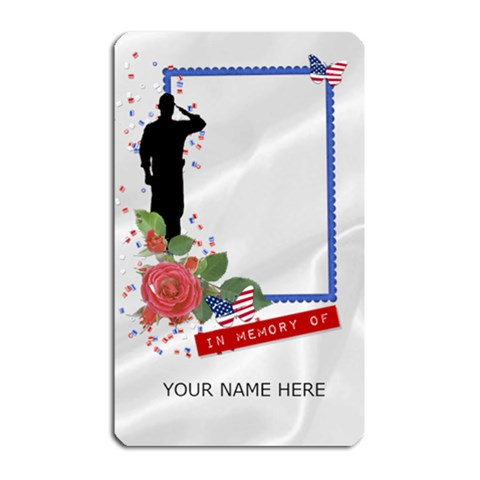 In Memory Of       By Laurrie   Magnet (rectangular)   8c7m5j0k0j9d   Www Artscow Com Front