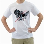 crown wing design custom White T-Shirt