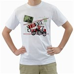 street original motor design custom White T-Shirt