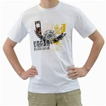 urban alternative design custom White T-Shirt