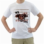 desert rally design custom White T-Shirt