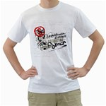 hurricano scorpion design custom White T-Shirt