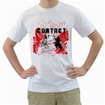 contact samurai kendo design custom White T-Shirt