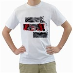 power system back in style design custom White T-Shirt