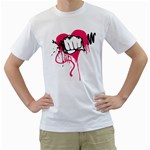 love punch design custom White T-Shirt